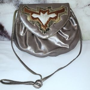 Almondo originals vintage silver shoulder bag